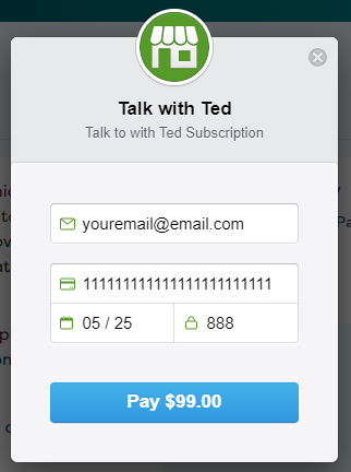 Talk with Ted - Support and troubleshooting guide images